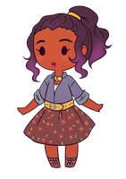 [CHIBI] iona oakes by maiscribble