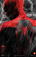 ''Amazing Spider-Man 2'' - teaser poster V2 by AndrewSS7