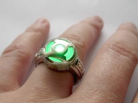 Working LED Green Lantern Power Ring by JeremyMallin