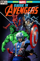 Classic TV Avengers by pungang
