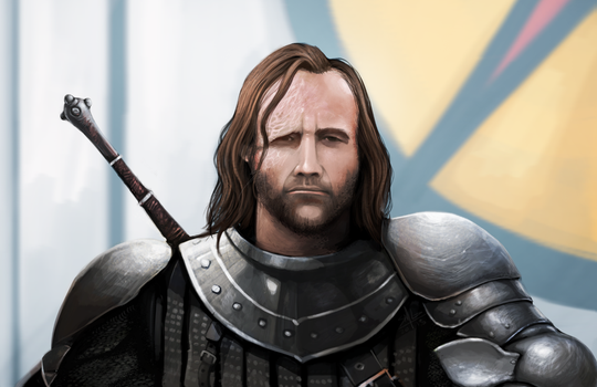 The Hound by DageThe3vil
