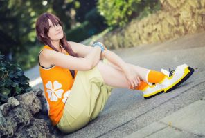 Olette - Waiting for the boys by SoraPaopu