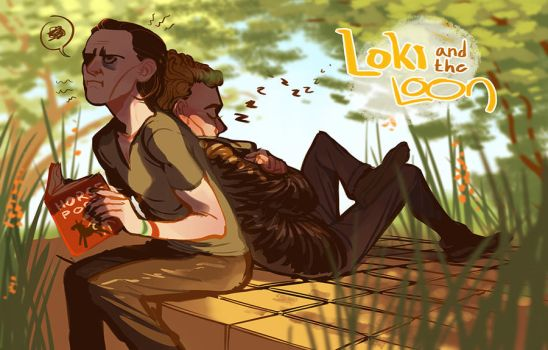 Loki and the Loon by heartbroken-girl