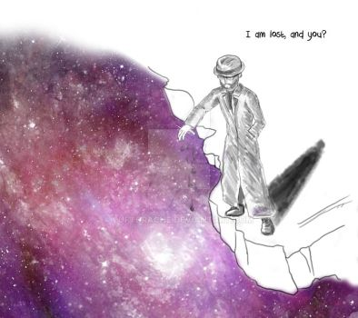 I am lost and you by luftdrache