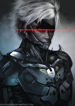Raiden - Revengeance by GreyRadian