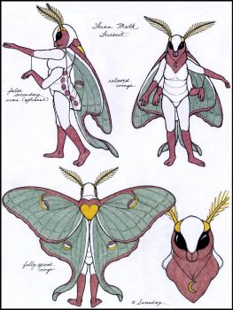 Luna Moth Fursuit--Free to Use by swandog