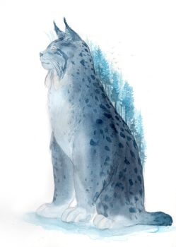 Mountain Lynx by ThreeLeaves