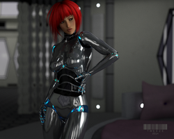 Gynoid 1011 by TweezeTyne