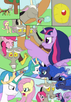Discord: Problem with the mares by Jyxia