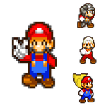 Mario and his Powerup Forms by HeiseiGoji91