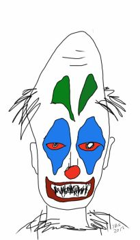 sketchy the clown 2012 by scooterb63