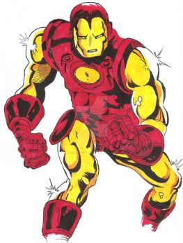 Old Ironman by IronMan9780