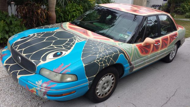turtle car by INVISIG0TH