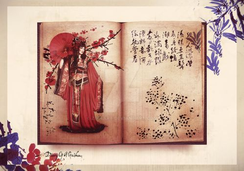 Diary Of A Geisha.. by zee4art