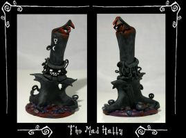 Mad Hatty Fimo Doll by Torke
