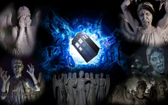 Weeping Angels - Doctor Who Edit by hazza1576