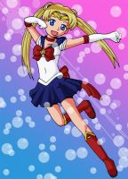 Pretty Soldier Sailor Moon by Glee-chan