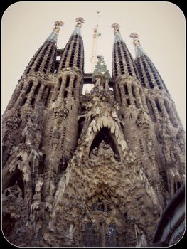 Sagrada Familia by ross4n4