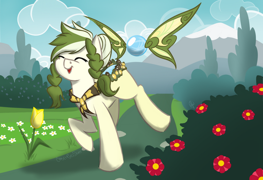 Faerings May Prompt   Lucky Coins by CadetRedShirt