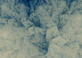 Blue Ink Paper by PaulineMoss