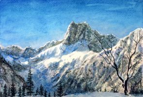 Snowy Mountains by Entar0178