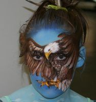Facepainting Mein Traum by iacubino