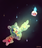 Reuniclus and Litwick