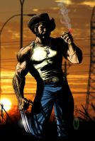 WOLVERINE CALLIN' IT A DAY by KYLE-CHANEY