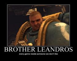 Brother Leandros by Arreal