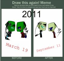 Before and Atfter Meme by YashaDeTrancy