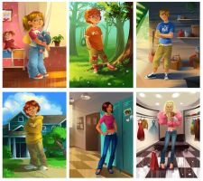 Characters by Zzanthia