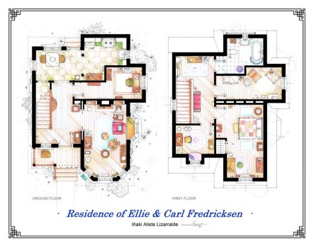 Floorplans of the house from UP by nikneuk