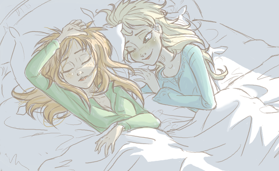 Goodnight sister by ASAMESHII
