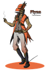 Pokemon Gijinka: Flynn the Talonflame by RTJGSketch
