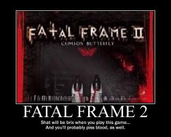 Fatal Frame 2 is scary by Keiitan