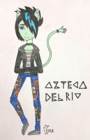 Monster High OC: Azteca del Rio by Oceanblue-Art