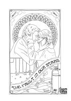 TFIOS Poster Lineart by jeminabox