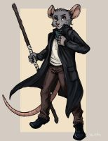 Niles - The Wanderer by TheLivingShadow
