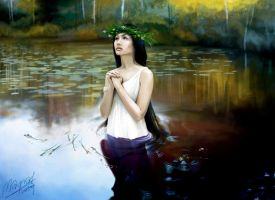 Ophelia by Magrad