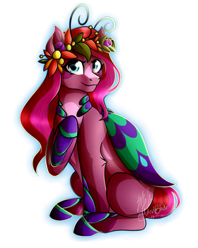 Contest Prize - Fall Flowers by WindBlade2313