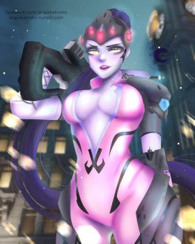 Widowmaker by AngieKatNekoOfficial