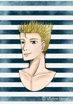 Blond man by vim93im