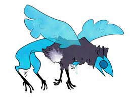 Entry for DTA (Undead Magpie Griffin) by BlueFlameJack