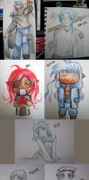 Painting: Path to Power chibis by chocolate-rebel