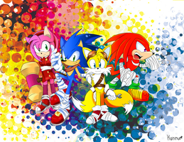 Sonic Boom Group by KonKonna