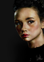 Crystal Reed by MaryAliceArt