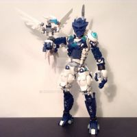 Eciar, Toa of Lightning (2.0) WIP by MrBoltTron