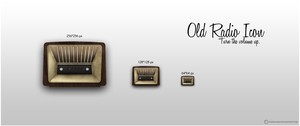 Old Radio Icon by OtherPlanet