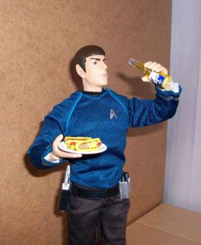 Spock, Beer, Tacos by Canary3d