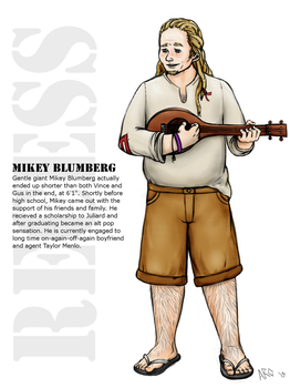 Mikey Blumberg by Just-AO